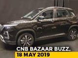 Video : MG Hector Unveiled, 2019 Mini JCW Launched, Hero Maestro Edge 125 & Pleasure+, Tata Intra
