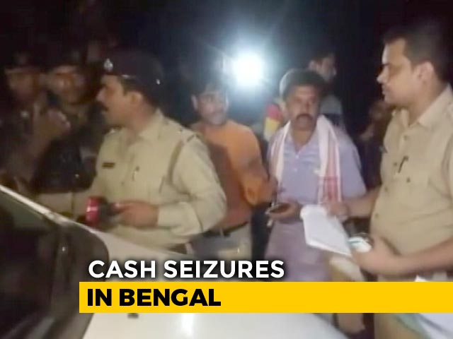 Video : Bengal Ex-Cop, Now BJP Candidate, Stopped At 2 am; Cash Seized From Car
