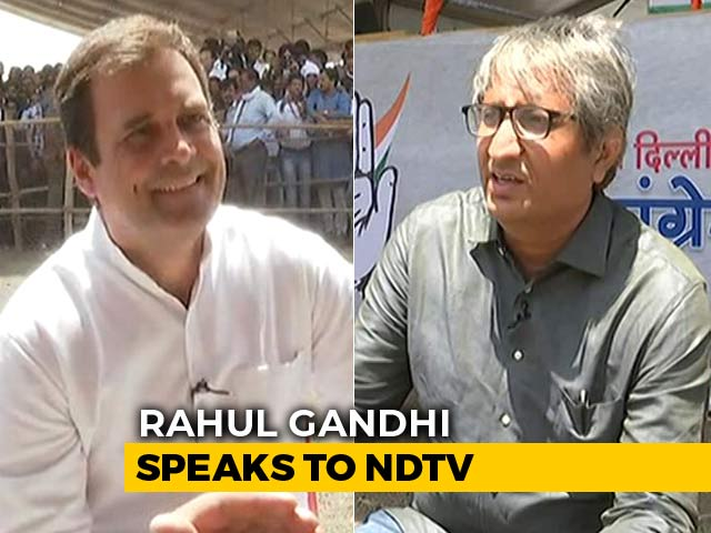 Video: 'PM Sleeps 3 Hours, So Debate Me On Corruption': Rahul Gandhi To Ravish