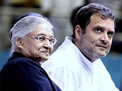 Sheila Dikshit A Beloved Daughter Of Congress: Rahul Gandhi