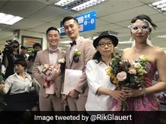 देखें एशिया के पहले समलैंगिक जोड़े की शादी की VIDEO...सोशल मीडिया पर हुई VIRAL