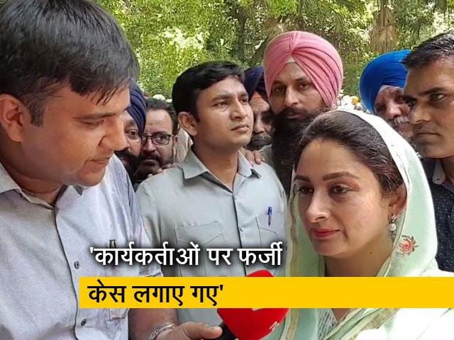 Videos : पंजाब में कांग्रेस ने हमें बेवजह बदनाम किया है- हरसिमरत कौर