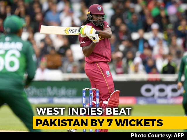 World Cup 2019: West Indies Hammer Pakistan By Seven Wickets