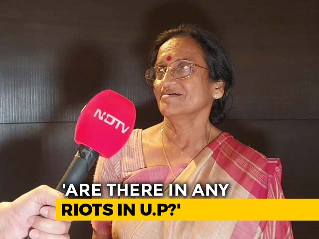 Video : UP Minister Rita Bahuguna On Why She Switched To BJP After 20 Years In Congress