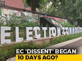Video : Election Commission's 'Cover Up' Of Dissent: How It Began