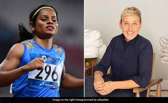 Ellen DeGeneres 'Proud' Of Sprinter Dutee Chand For Coming Out As Gay