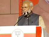 """Video : """"Every Cell Of My Body Dedicated To Nation,"""" Says PM Modi After Big Win"""