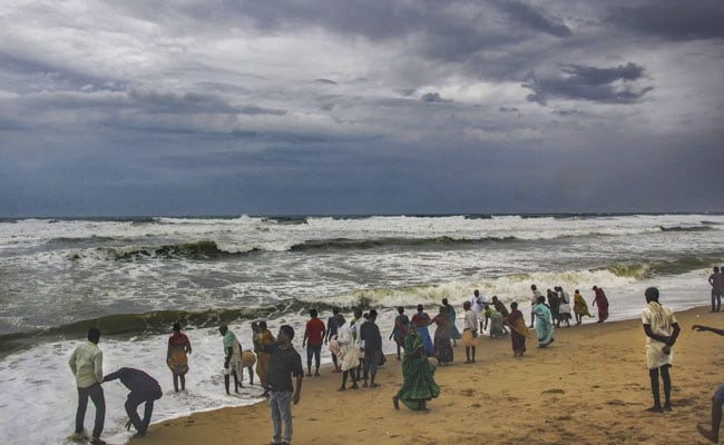 As Cyclone Fani Rolls Menacingly, Massive Evacuation On In Odisha