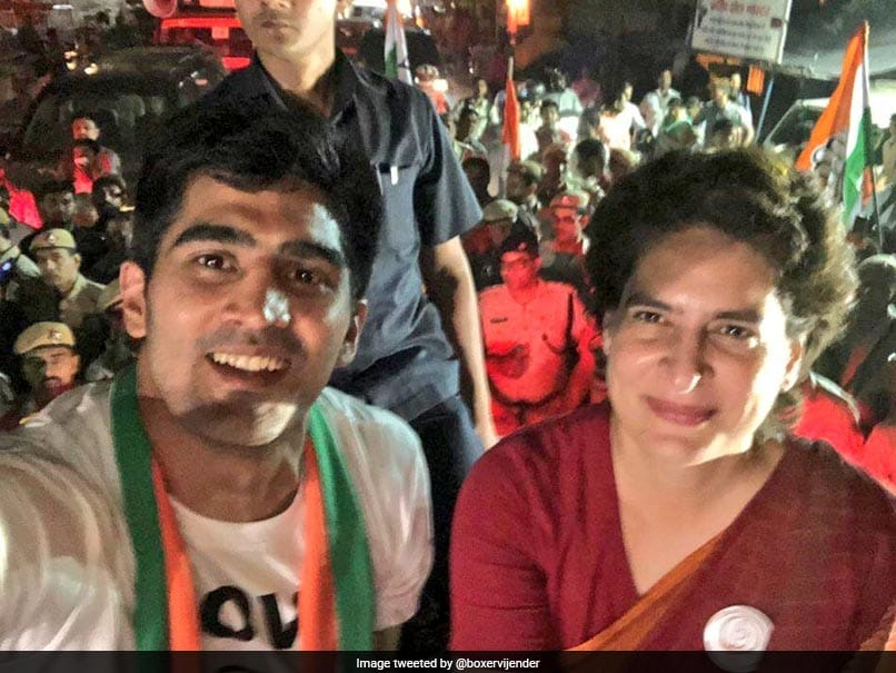 Boxer Vijender Singh, Congress Candidate From South Delhi Constituency