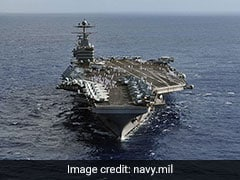 """US Sends Carrier, Bombers To Middle East In """"Clear Message"""" To Iran"""
