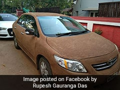 Ahmedabad Driver Coats Car With Cow Dung To Cool It As Temperatures Soar