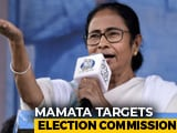 "Video : Poll Body Cuts Short Bengal Campaign, Mamata Banerjee Says ""Gift To BJP"""