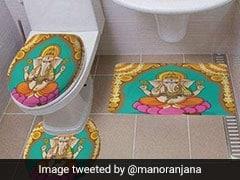 ये अमेरिकी ई-कंपनी बेचती है हिंदू देवताओं की तस्वीर वाले स्नान-आसन