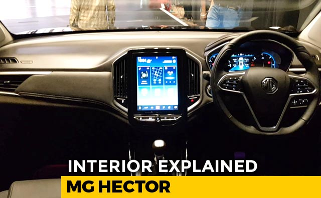 Mg Hector Interior Explained