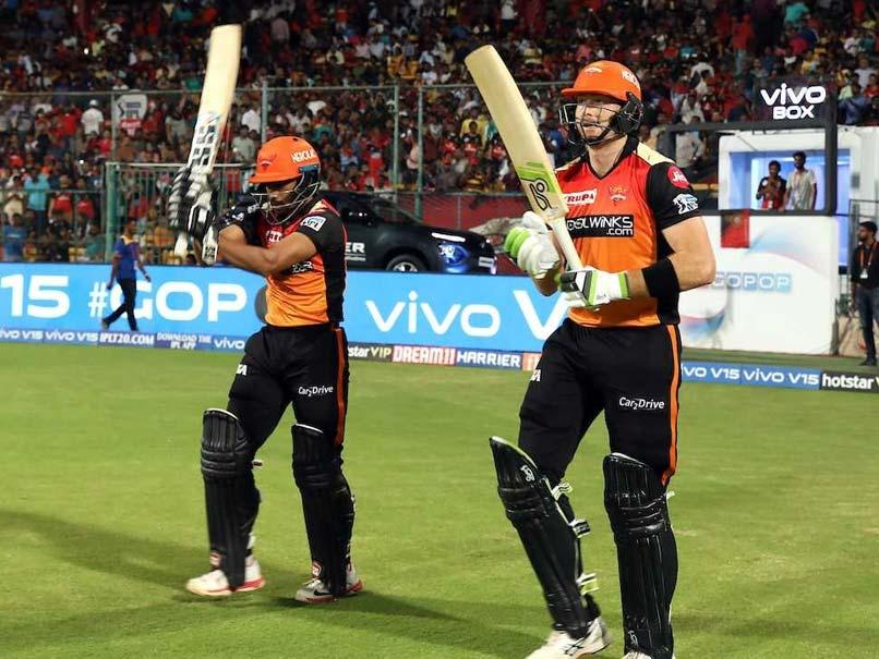 Live IPL Score, RCB vs SRH Live Cricket Score: Washington Sundar Strikes Twice, SunRisers Hyderabad 3 Down In Bengaluru