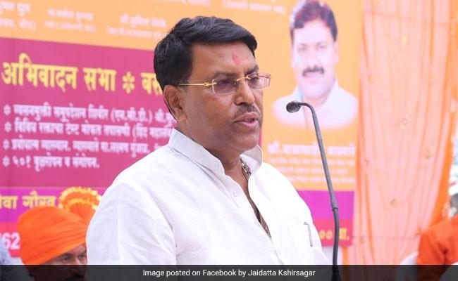 Nationalist Congress Party Leader Jaydutt Kshirsagar To Join Shiv Sena