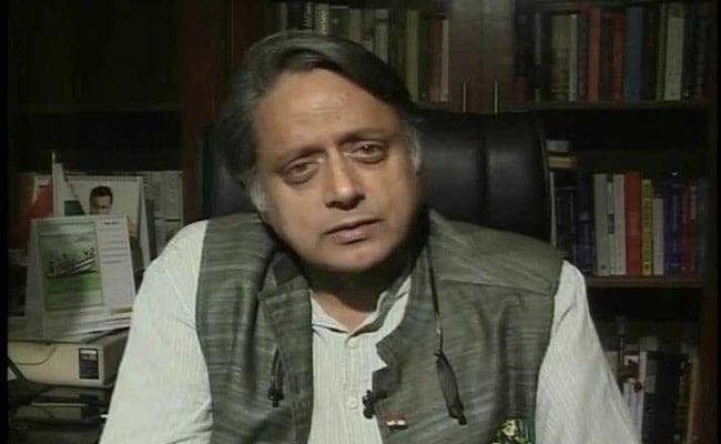 """Shashi Tharoor Slams Pakistan, China; Terms Kashmir Peace """"Artificial"""""""