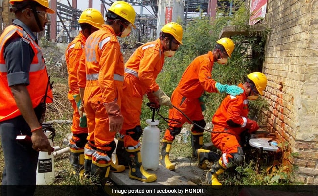 2 Workers Die After Getting Stuck Underground Laying Sewer Line In Noida