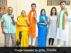 "Lok Sabha Polls: ""Hope In The Eyes"" Of Voters, Says Rajyavardhan Rathore's Wife"