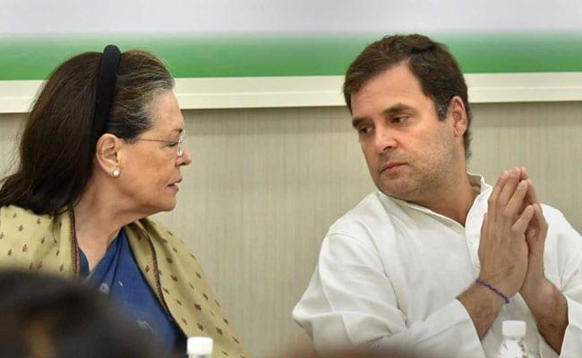 Rahul Gandhi's Resignation Rejected At Top Congress Meet