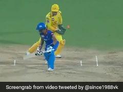 IPL 2019: एमएस धोनी ने पलक झपकाते ही उड़ाए विकेट, बल्लेबाज हैरान, लोग बोले- ऐसे कैसे? देखें VIDEO
