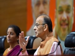 "Arun Jaitley's ""Albatross"" Dig At Gandhis Over Exit Poll Predictions"