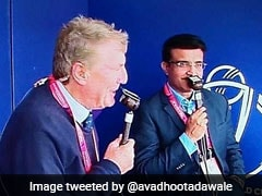 Sourav Ganguly, John Wright Share Moment Of Nostalgia In Commentary Box
