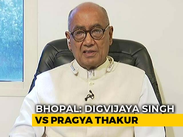 Video : Will It Be Difficult For Congress's Digivijaya Singh To Win Bhopal Seat?