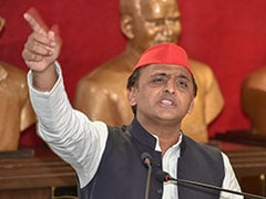 "Uttar Pradesh ""Is Now Known As <i>Hatya</i> Pradesh,"" Says Akhilesh Yadav"