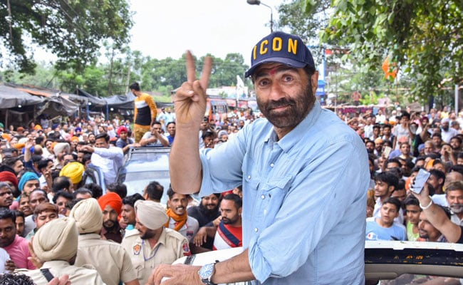 """Sunny Deol Gets Notice Over Election Expenses """"Crossing"""" Rs 70-Lakh Limit"""