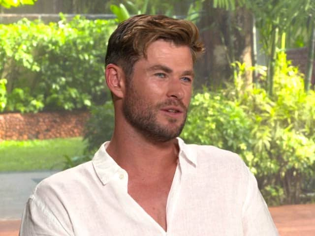 Video : Chris Hemsworth On <i>MIB: International</i> And More