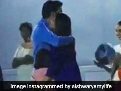 Abhishek Bachchan's Prize For Football Match Win - A Hug From Daughter Aaradhya