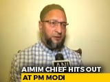 "Video : On PM's ""Minorities' Fear"" Remark, Asaduddin Owaisi Cites Cow Vigilantes"