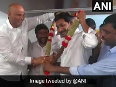 Jagan Reddy Unanimously Elected YSR Congress Legislature Party Leader