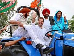 Rahul Gandhi's Tractor Photo Op In Punjab Comes With Message For Farmers