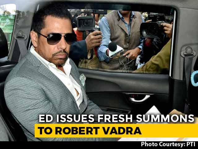 Video : Robert Vadra Summoned By Probe Agency Tomorrow In Money-Laundering Case