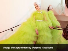 Cannes 2019: Deepika Padukone In Lime Green And A Turban. Who Knew?