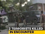 Video : 2 Terrorists Killed In Encounter in J&K's Kulgam, Cache Of Arms Seized