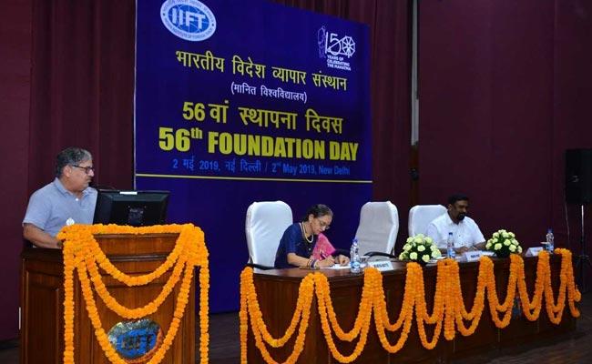 नैतिक कॉर्पोरेट प्रशासन के सिद्धांतों पर चर्चा के साथ IIFT ने मनाया 56वां स्थापना दिवस