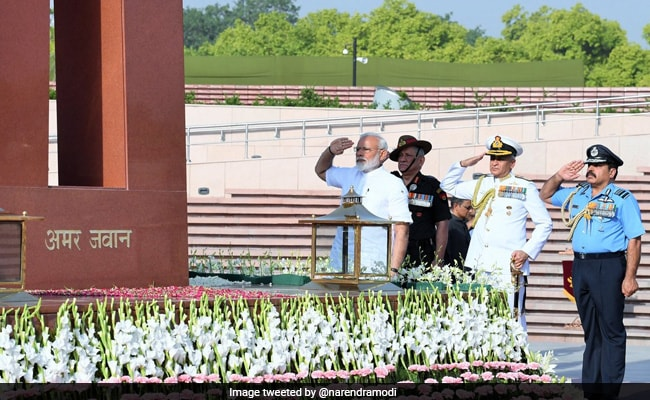'National Security Our Priority': PM After War Memorial Visit Before Oath