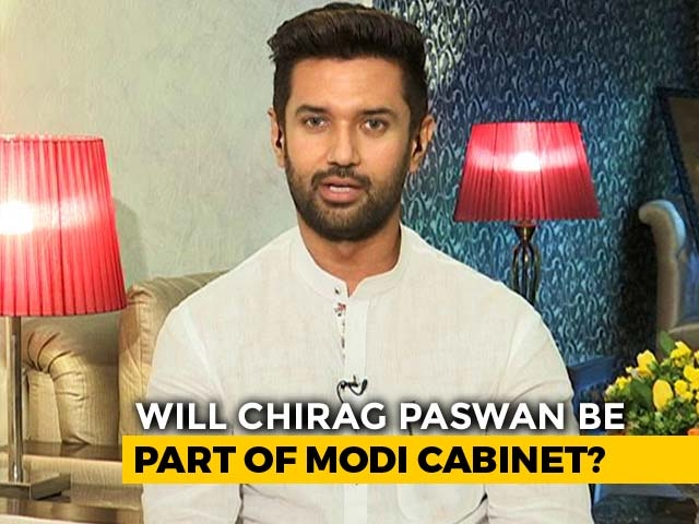 "Video : ""Not Me"": On Ministry, Chirag Paswan Counters Father Ram Vilas Paswan"