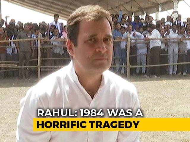 Video: 'Sam Pitroda Wrong, No Debate On 1984 Tragedy': Rahul Gandhi To NDTV
