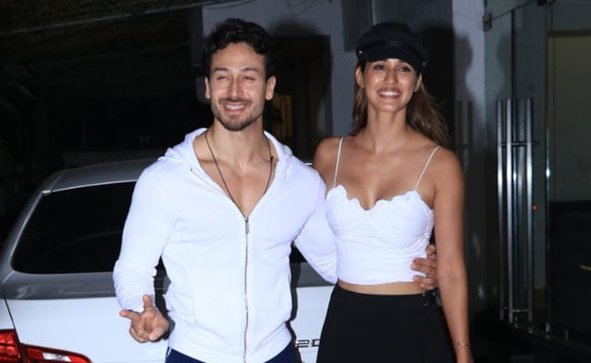 Disha Patani And Tiger Shroff, Twinning In White, Spotted Together