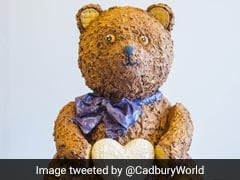 Giant 28 Kg Chocolate Teddy Bear Created To Celebrate Royal Baby