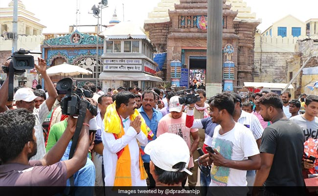 Huge Damage To Jagannath Temple After Cyclone Fani: Dharmedra Pradhan