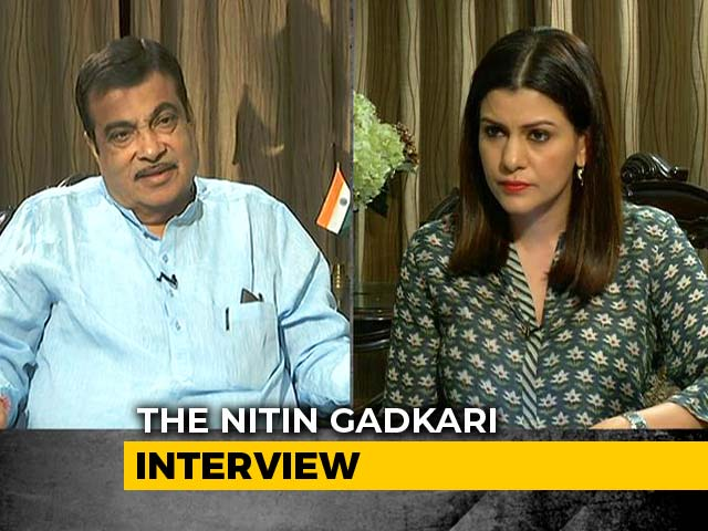 "Video : ""I'm Not A Dark Horse, Don't Want To Become PM"": Nitin Gadkari To NDTV"