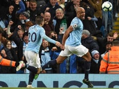 Captain Vincent Kompany Keeps Manchester City On Course For Premier League Title