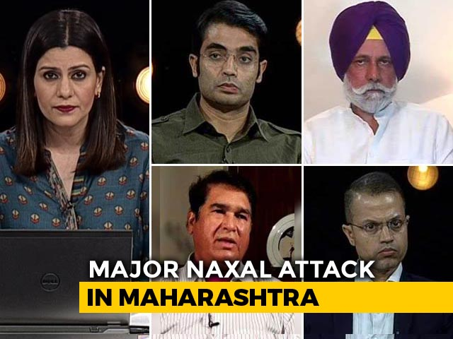Video : Major Maoist Attack In Maharashtra: Another Intelligence Failure?