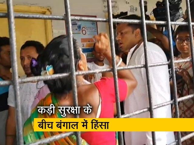 Video : बंगाल में कई बूथ पर बीजेपी और टीएमसी कार्यकर्ताओं के बीच झड़प