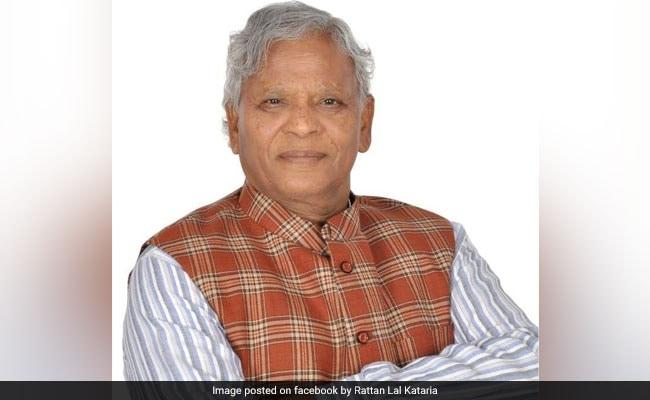 Rattan Lal Kataria: BJP's Dalit Face In Haryana